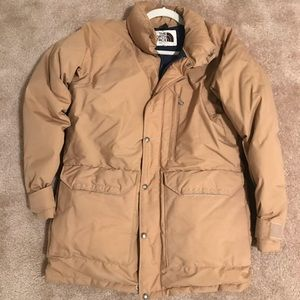 The North Face Puffer Winter Jacket Vintage Mens